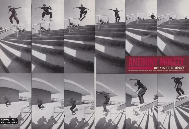 Dvs Shoes Anthony Mosley Ad 2002 Dvs Shoes Anthony Mosley Shoes