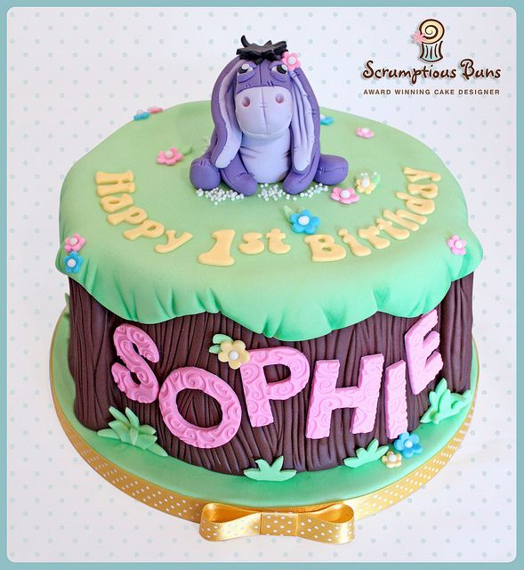 Miraculous Eeyore 1St Birthday Cake Decorating With Fondant Winnie The Funny Birthday Cards Online Inifofree Goldxyz