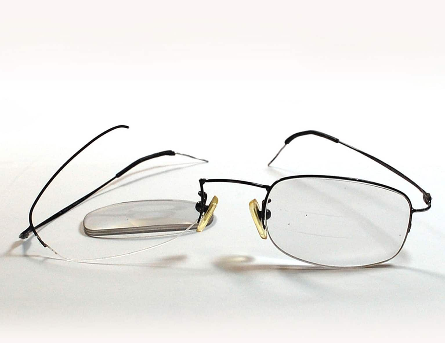 Fixmyglasses can repair over 95% of broken glasses, including ...