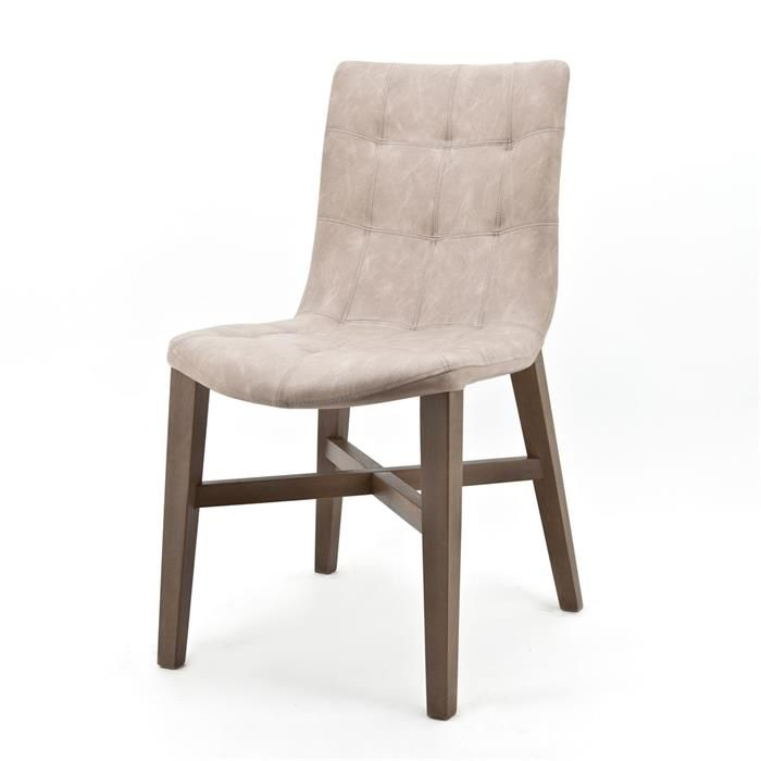 Chair Neba with Oak leg - Vintage Sand (7037) #Pakhuis3 #Stoel
