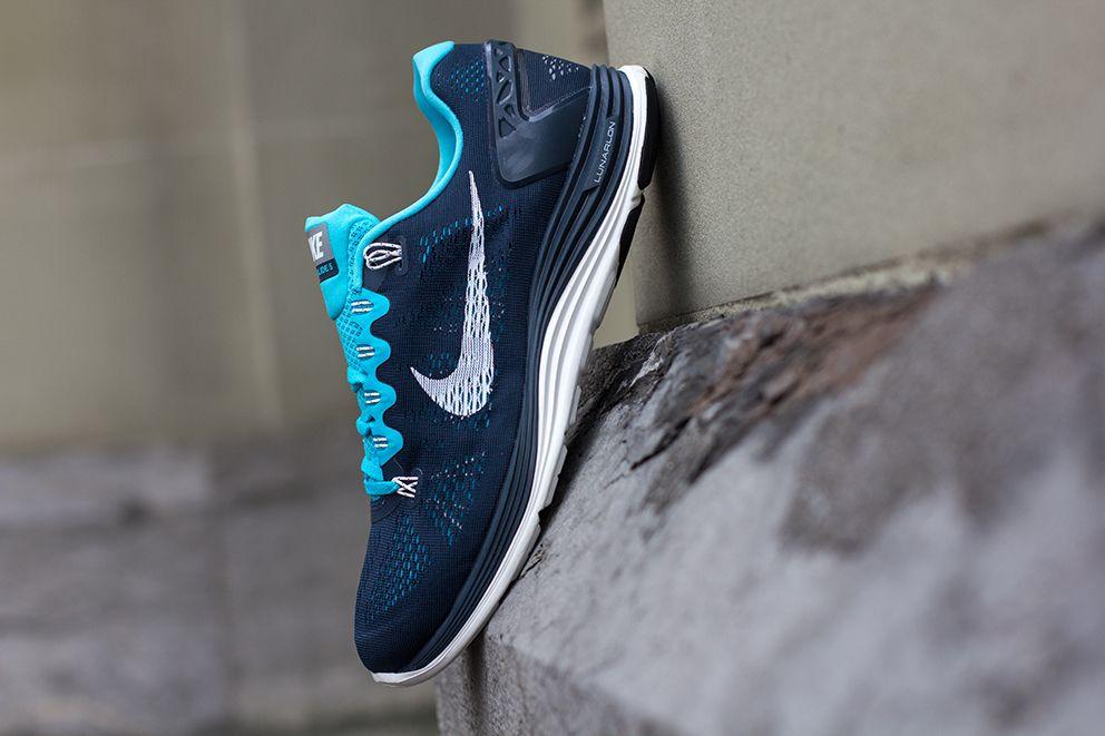 Nike Lunarglide+ 5 Armory Navy Gamma Blue