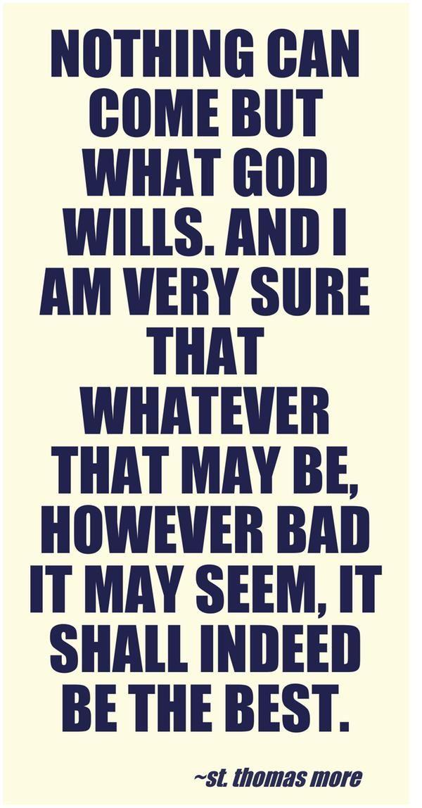 St. Thomas More quote | Quotes Quotes Quotes | Catholic quotes