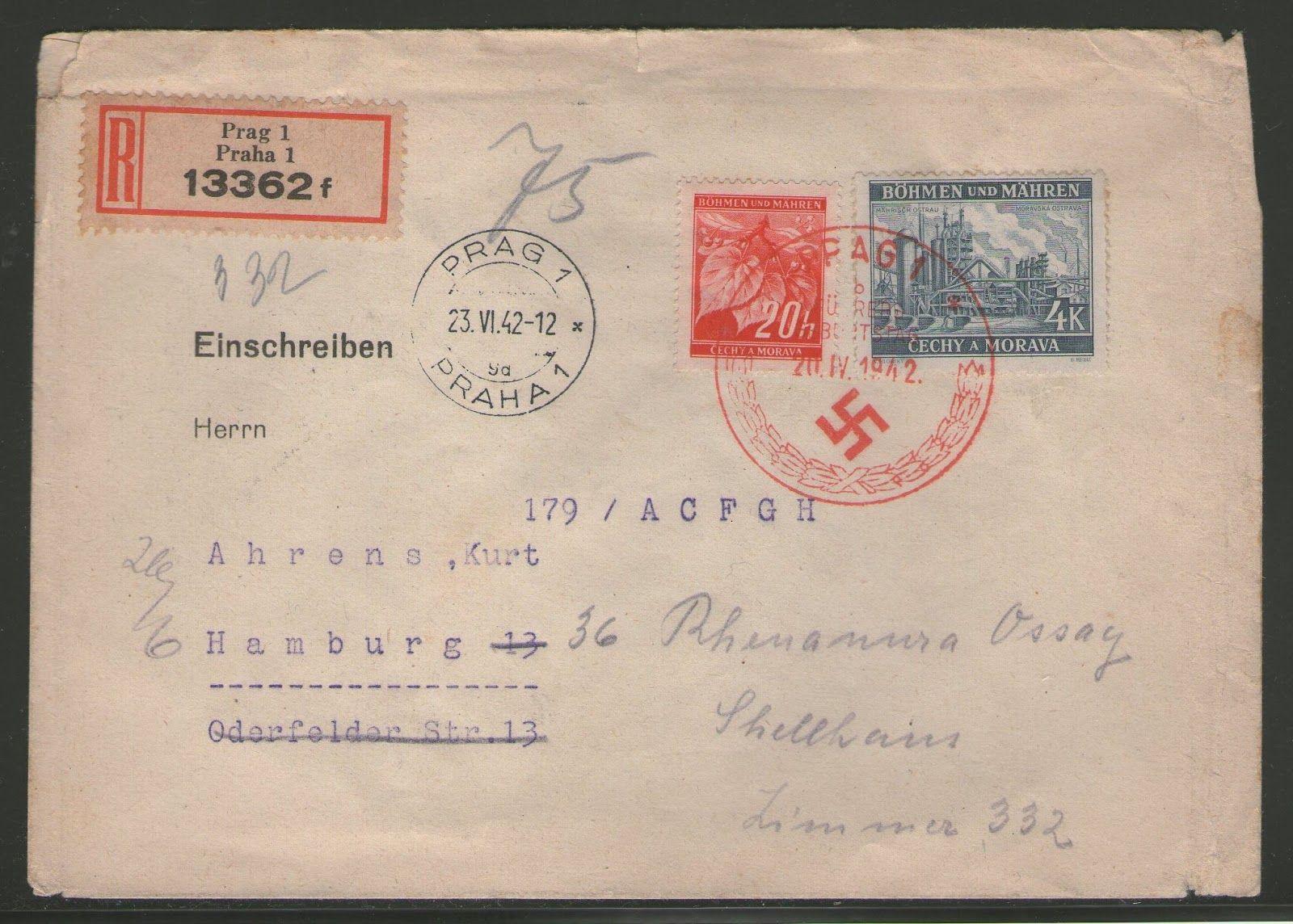 Minha coleção de selos postais