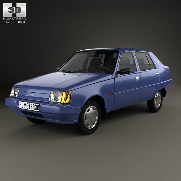 ZAZ Slavuta (1103) 1999 3d model from humster3d.com. Price: $75