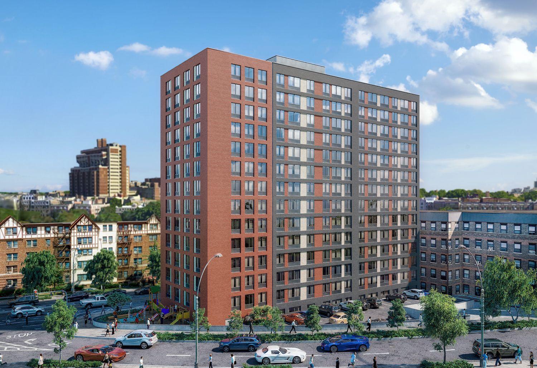 150 Van Cortland Avenue East. rendering by Marin Architects