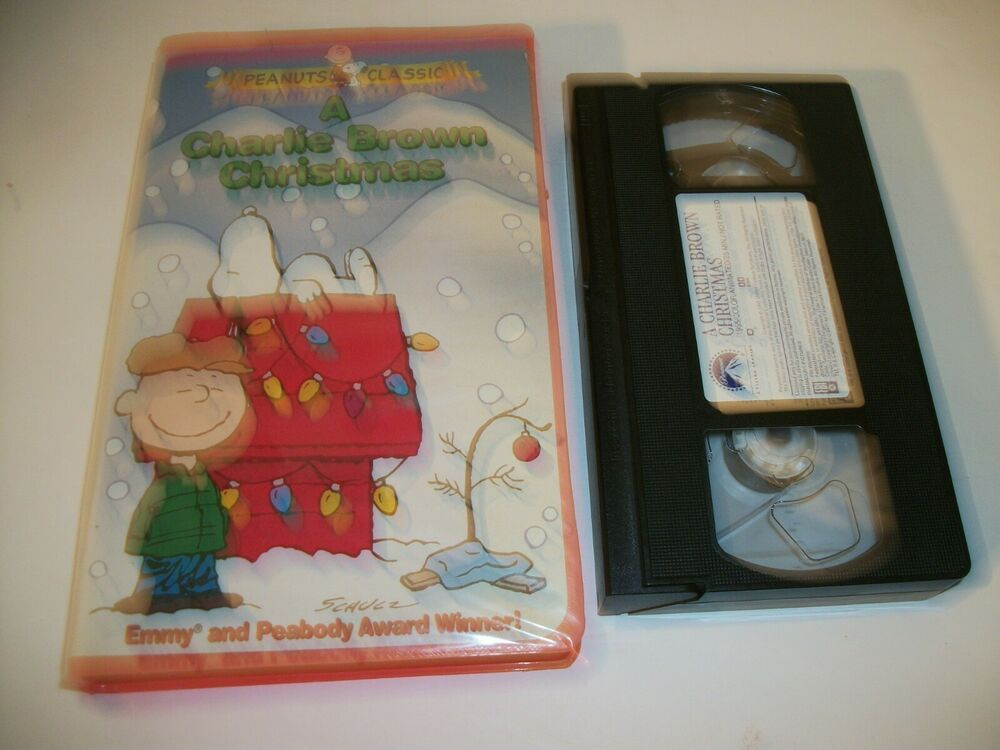 A Charlie Brown Christmas Vhs.A Charlie Brown Christmas Vhs 1999 Clamshell Case Vhs