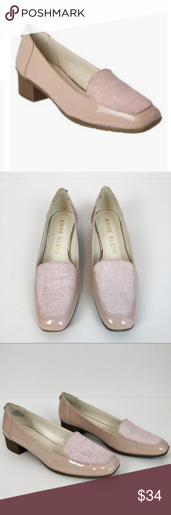 4f4121280e3 Anne Klein Daneen Patent Leather Loafers Go for a casual tailored look with  the Daneen loafer