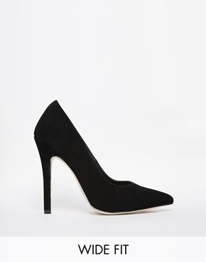 5e49ad75aa Simple black high heels but wide fit - for my tired feet | Places to ...