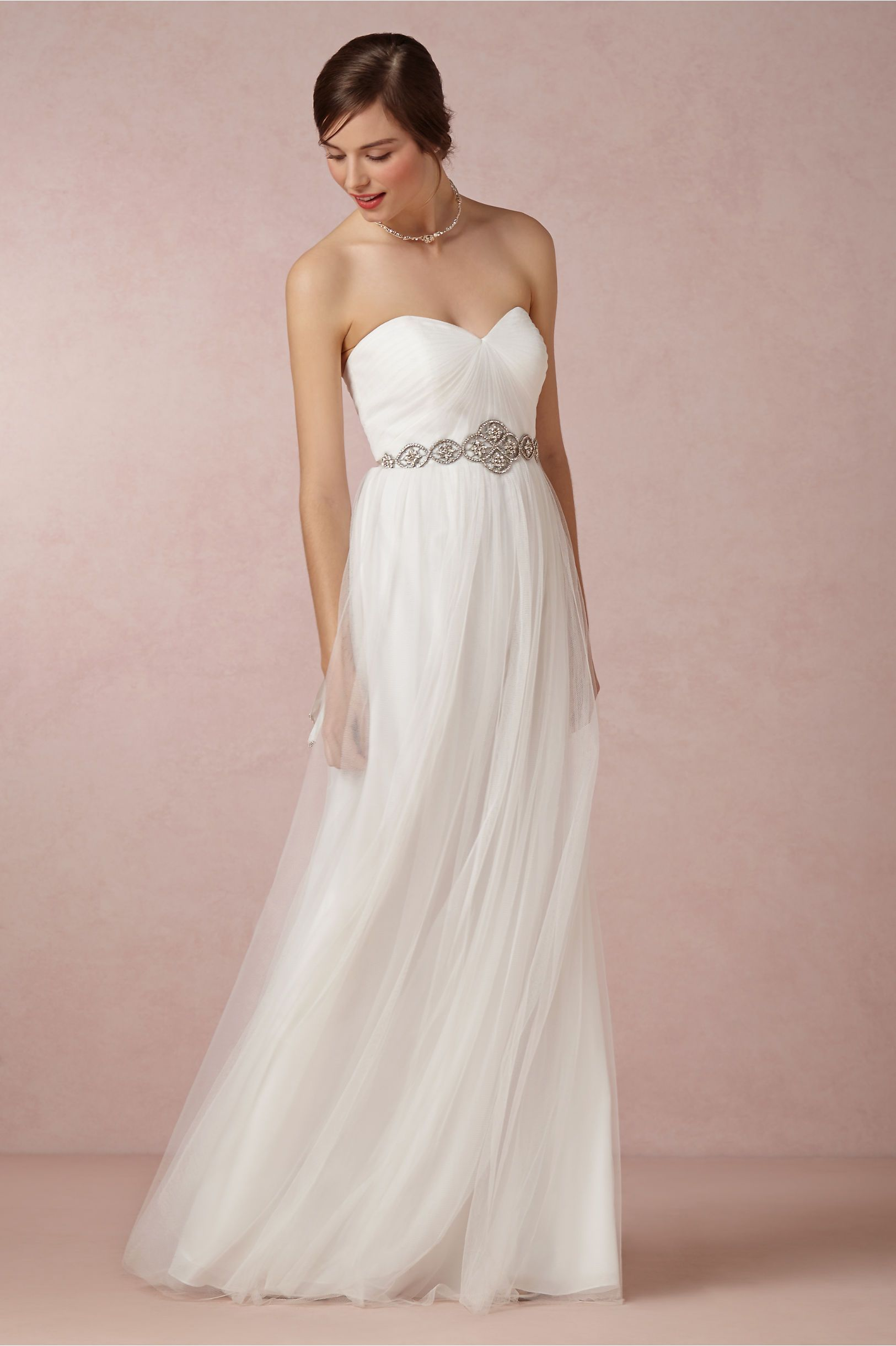 BHLDN Annabelle Dress & Marnie Topper in Bride Wedding Dresses at ...