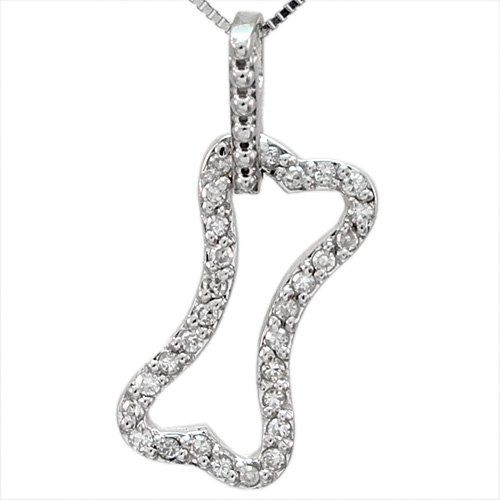 Diamond dog bone pendant accessories for doggie me pinterest diamond dog bone pendant aloadofball Gallery