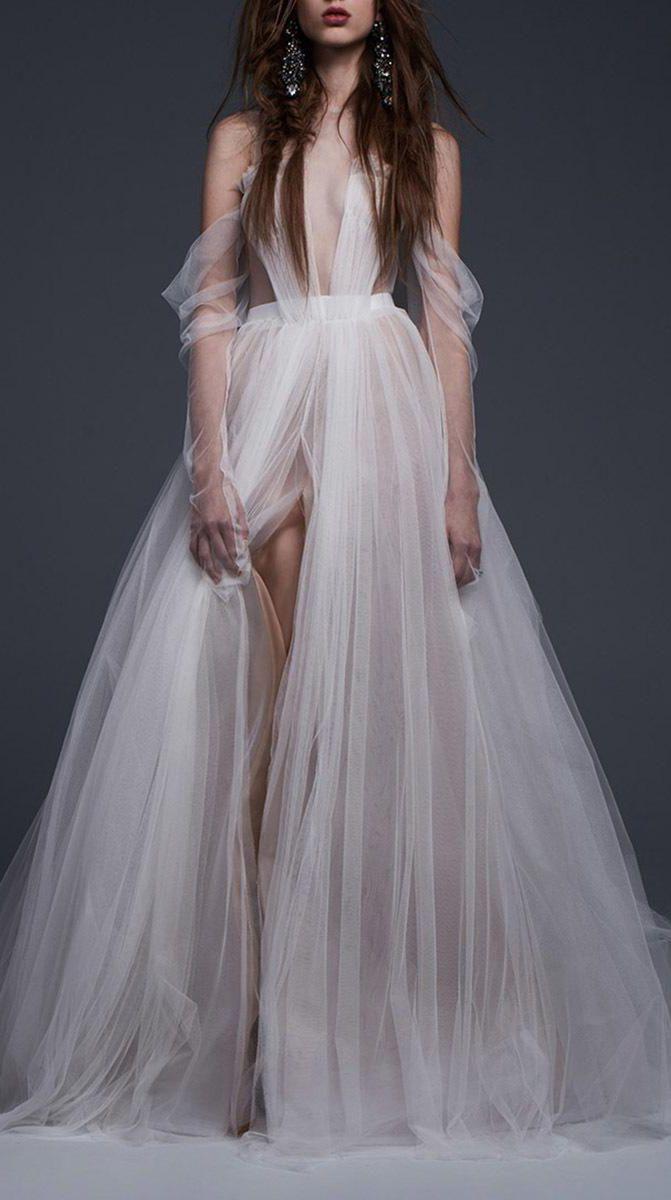Ethereal tulle wedding gown   wedding   Wedding dresses ...