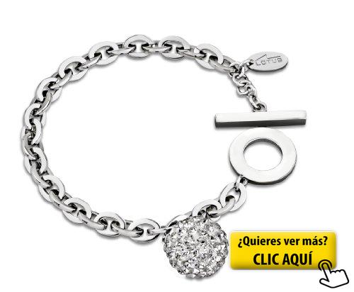 3a1db33ed39a Lotus Style LS1405-2-1 - Pulsera de acero...  pulsera  mujer ...