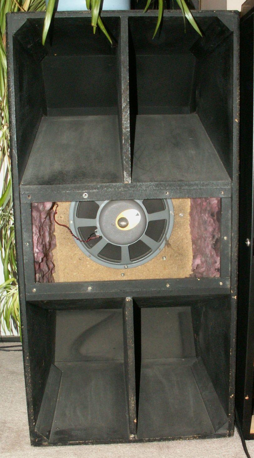 Cerwin Vega B48 Speaker box design, Woofer speaker, Box