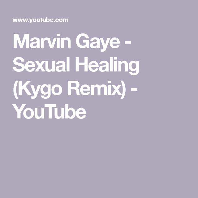Marvin Gaye - Sexual Healing (Kygo Remix) - YouTube | soul