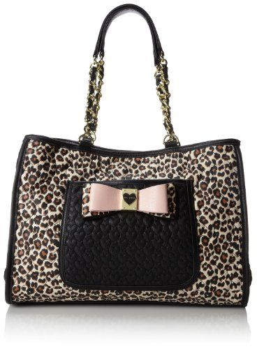 Betsey Johnson Be My Honey Buns East West Tote Shoulder Bag,Leopard,One Size Betsey Johnson http://www.amazon.com/dp/B00HQW5EEM/ref=cm_sw_r_pi_dp_Zmcsub13WBRYF