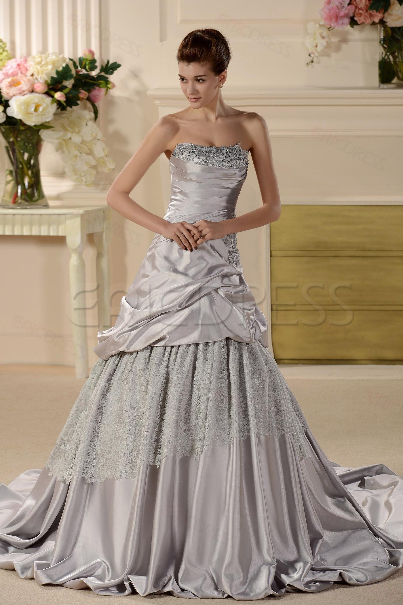 Spectacular A line/Princess Wedding Dresses & Unique