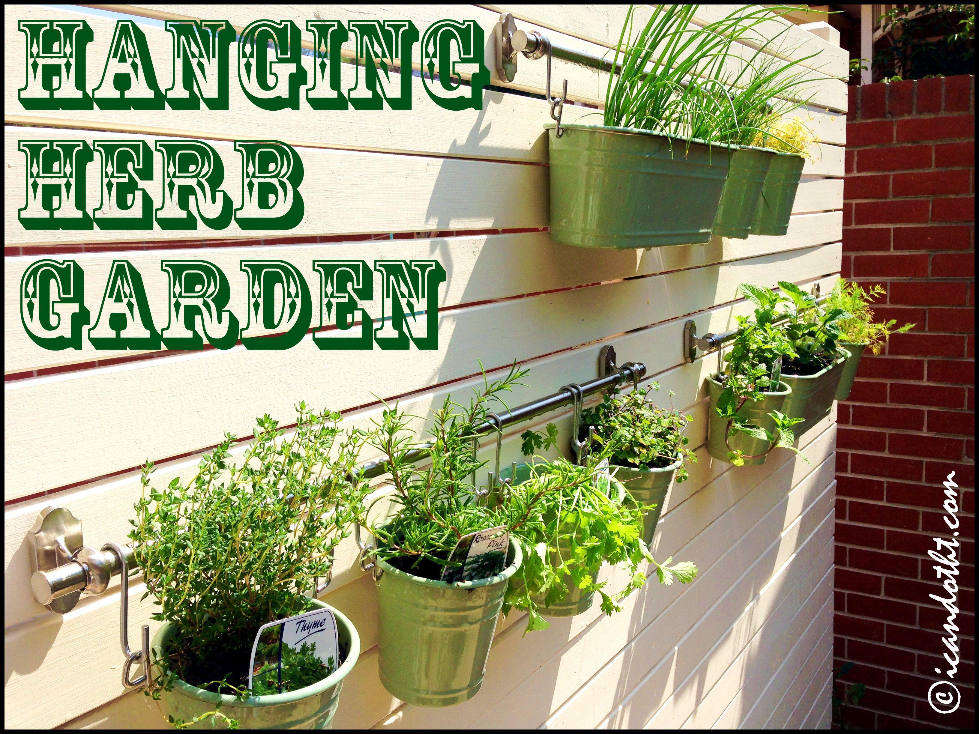picturesque hanging herb garden burlap herbgardenfront diy bunnings