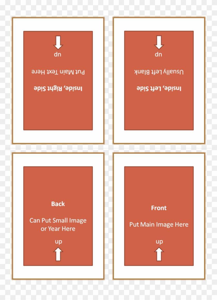 Four Fold Greeting Card Template 127614 Quarter Fold For Quarter Fold Card Template S Birthday Card Template Greeting Card Template Valentine Card Template
