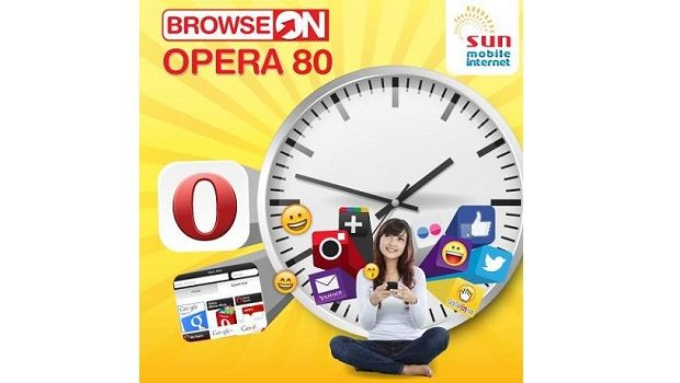 Sun Cellular offers 7-day unlimited Internet access with Sun Opera 80