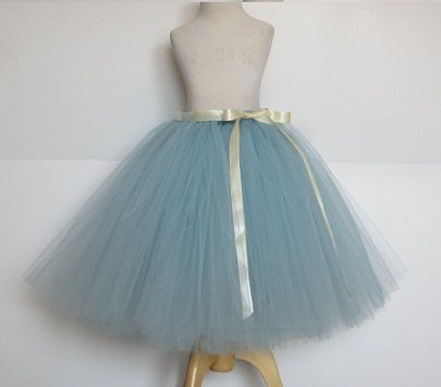 Skirt Tulle Boda Falda Niña Tul Etsy Blue Y 4w8FY6FqB
