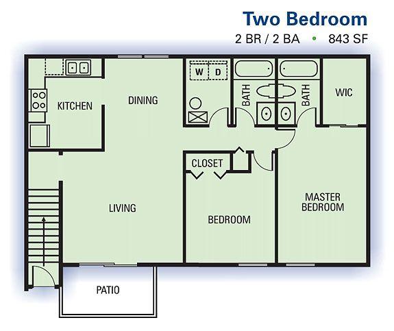 Lexington Ii Apartments East Point Ga Atlanta Apartments With Utilities Included Atlanta Apartments Rental Apartments Floor Plans