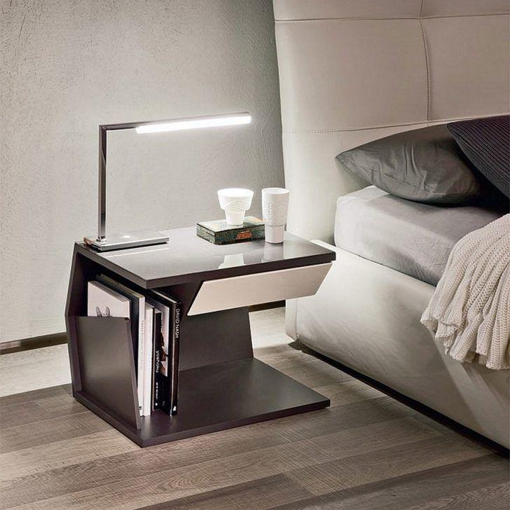 Sleek Modern Bedside Table For The Modern Bedroom Www Bocadolobo