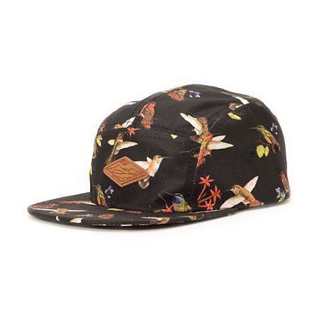 21f3a9ab The Empyre HMM black 5 panel hat is a low-profile 5 panel with wild