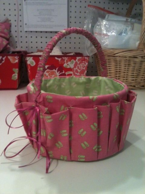 Ice Cream 5 quart bucket repurposed into a sewing ...
