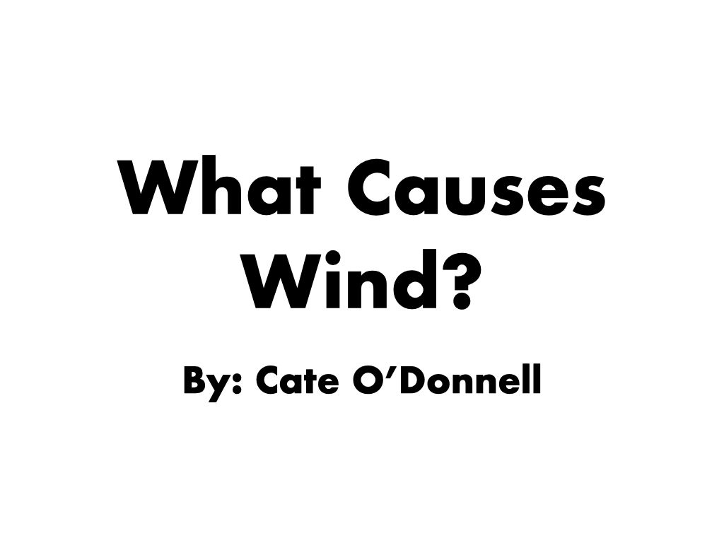 What Causes Wind? Science Reading Passage in 2020