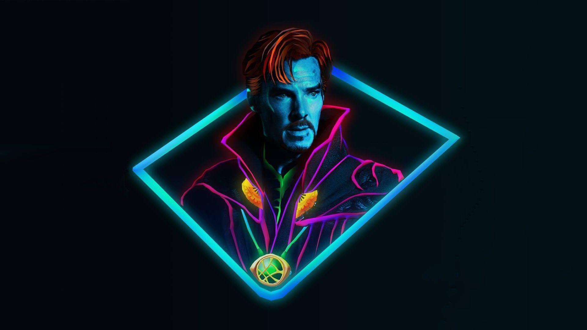 Neon Avengers 1920x1080 Desktop Wallpapers Based On Artwork By Aniketjatav On Instagram Avengers Wallpaper Marvel Wallpaper Avengers Pictures