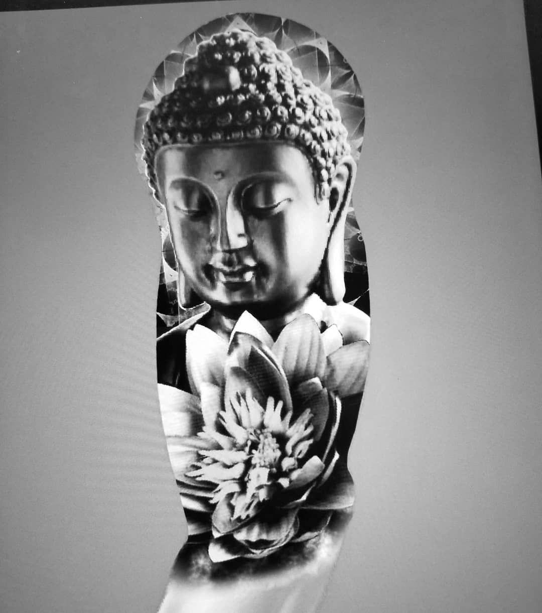 Concept i made that id love to tattoo buddha tattoos