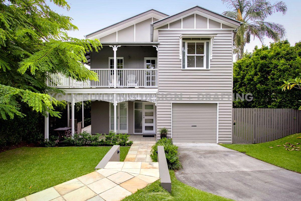 2 story home in hawthorne brisbane australia two - Modern queenslander home designs ...