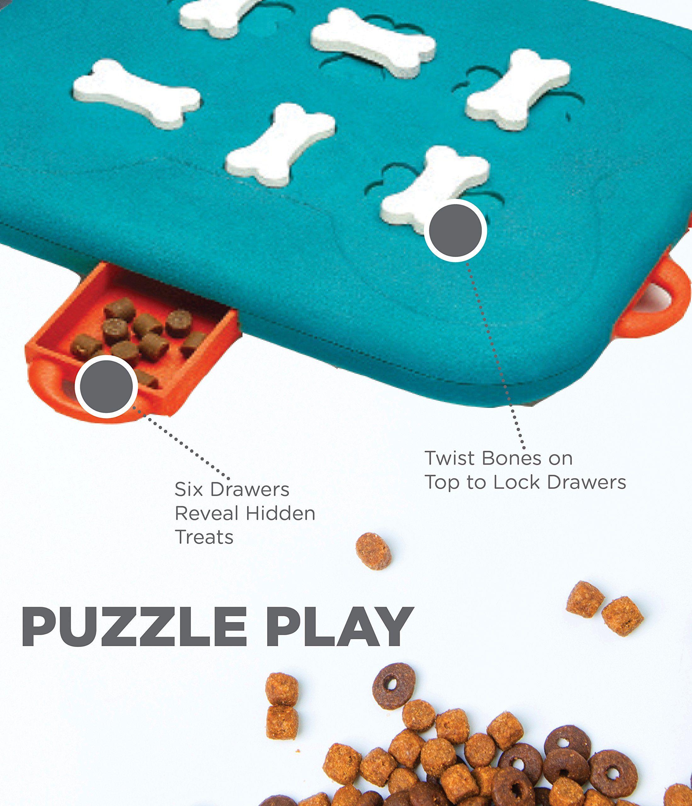 Outward Hound Nina Ottosson Dog Casino Dog Puzzle Toy Dog Game