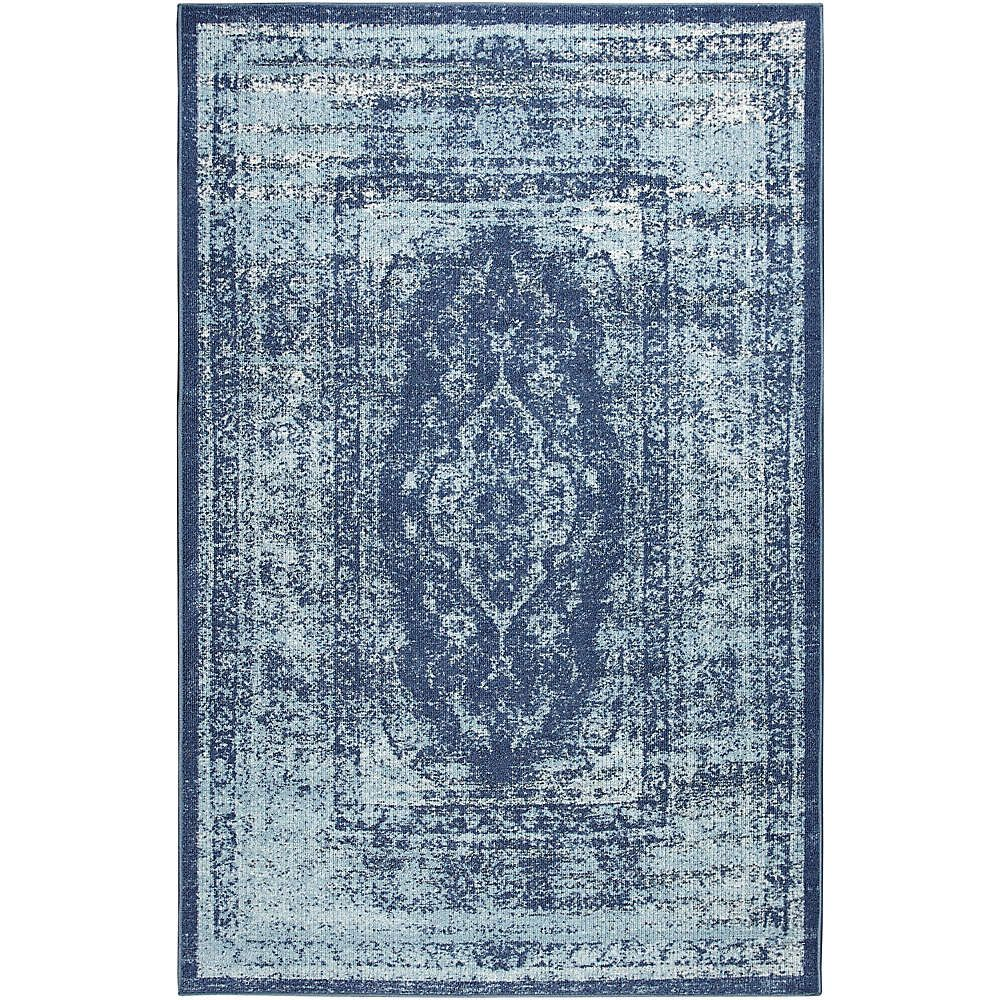 Myla Blue Rug Mohawk Home Blue Rug Mohawk Home Rugs
