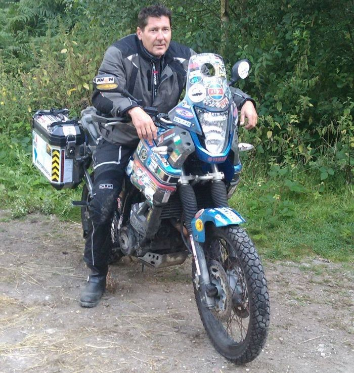 African Motorcycle Diaries' Spencer Conway prepares for solo trip around South America
