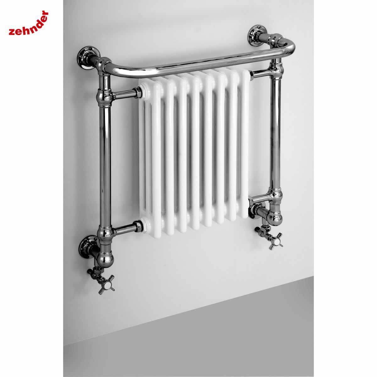 Small heated towel rails for bathrooms - Zehnder Lambeth Traditional Towel Radiator Ukbathrooms