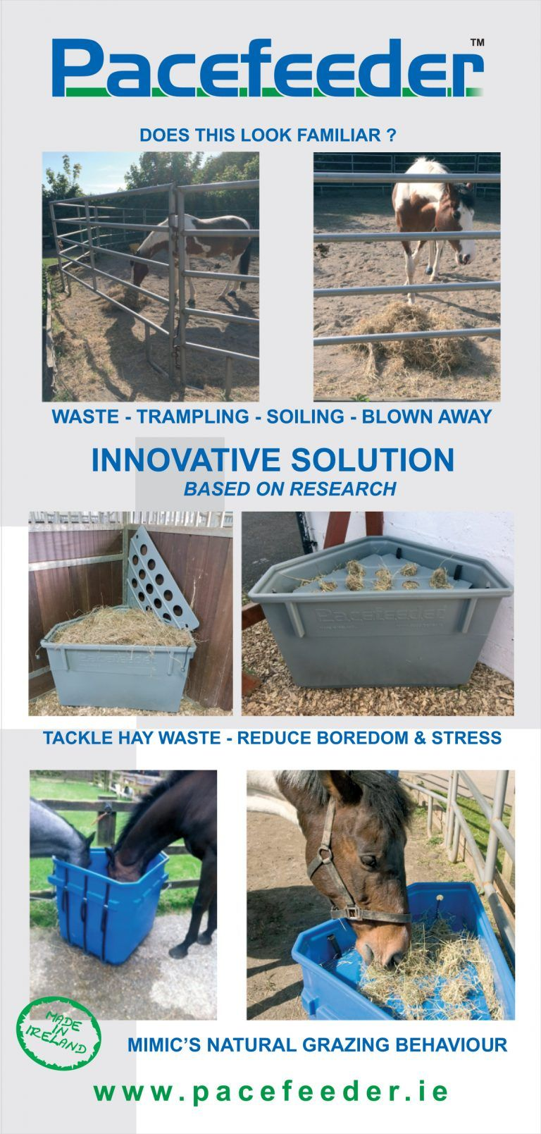 A Slow Hay Feeder That Feeds Your Horse The Natural Way Healthy