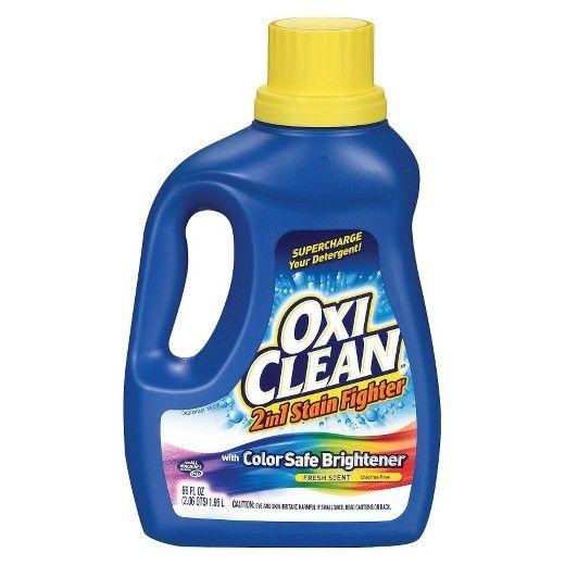 Oxi Clean Color Safe Brightener Laundry Detergent Cubiertas Trastes Limpieza