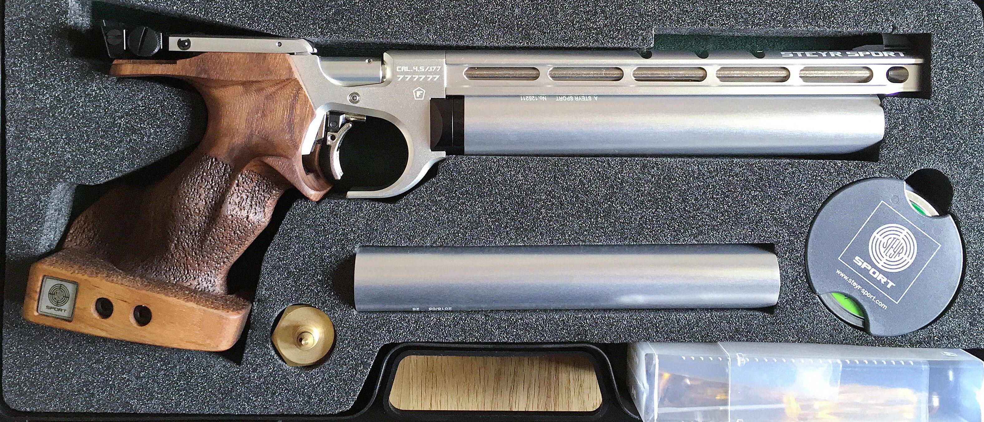 Pin by rae industries on Steyr Pistol   Air rifle, Guns