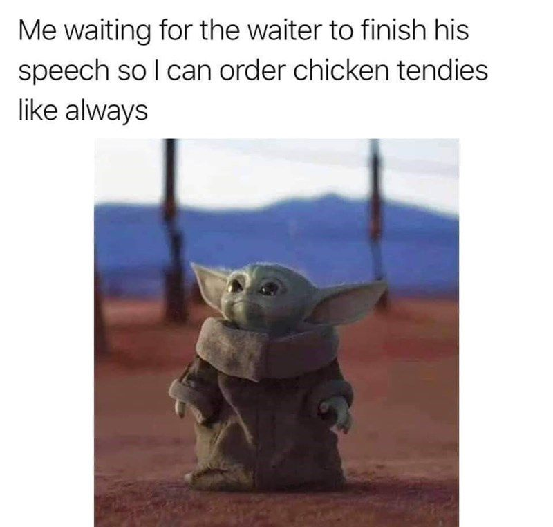 Even More Baby Yoda Memes For The Obsessed Memers In 2021 Yoda Funny Yoda Meme Funny Baby Quotes