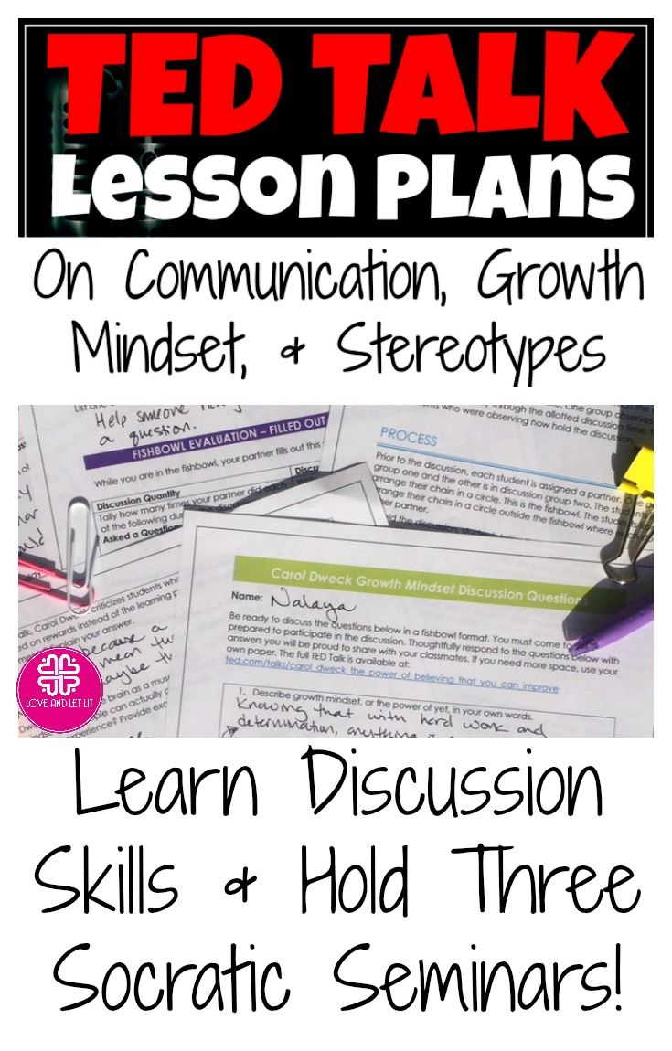 Ted Talk Lesson Plans For Powerful Discussions With Images