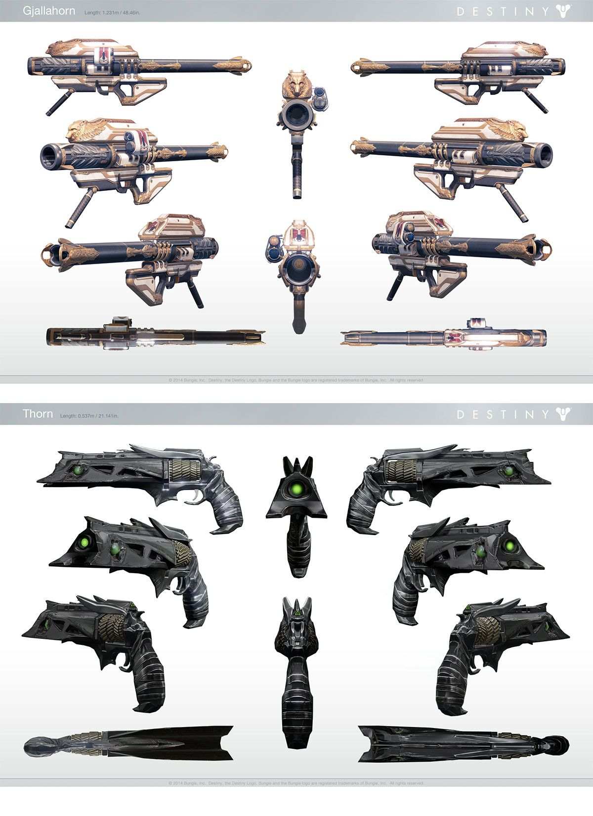 Concept Arts e trailer do game Destiny, da Bungie | THECAB - The Concept Art Blog