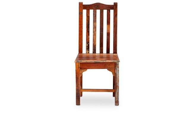 Oak Express: Nantucket Reclaimed Side Chair : CS DTNTC