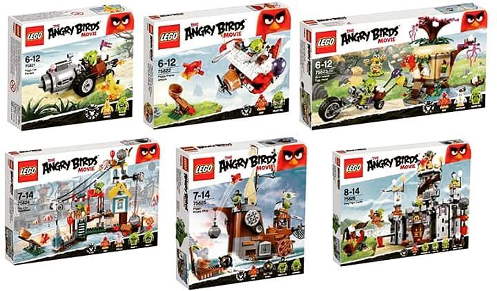 This month the latest Lego release would be the Angry Birds movie ...