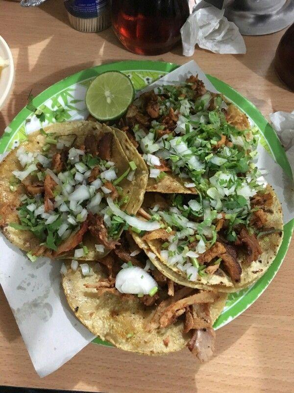 Tacos al pastor....