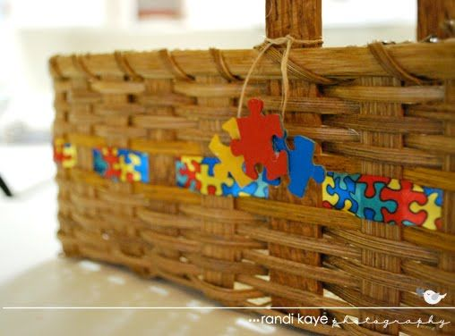 A Modern Day Fairy Tale Autism Awareness Craft Basket Edition
