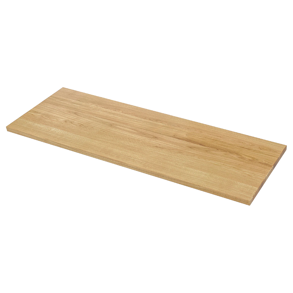 Mollekulla Countertop Oak Veneer 74x1 1 2 Ikea In 2020 Countertops Wood Countertops Veneers