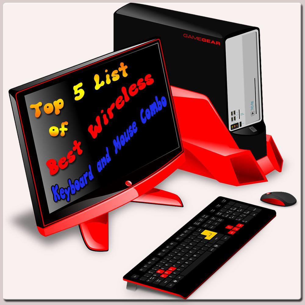 Best Wireless Keyboard And Mouse Combo Wireless Combo Keyboard