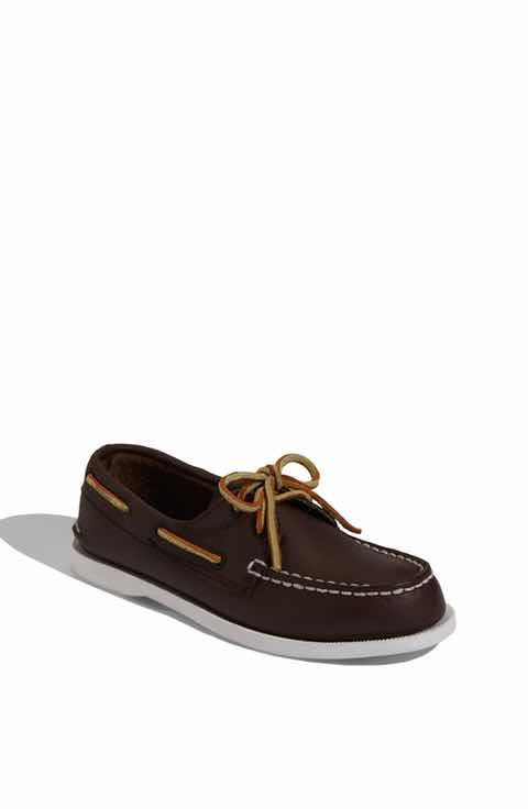 Sperry Top-Sider Authentic Original Toddler Slip On(Infants/Toddlers') -Sahara Leather Recommend Cheap Online WUOKwo