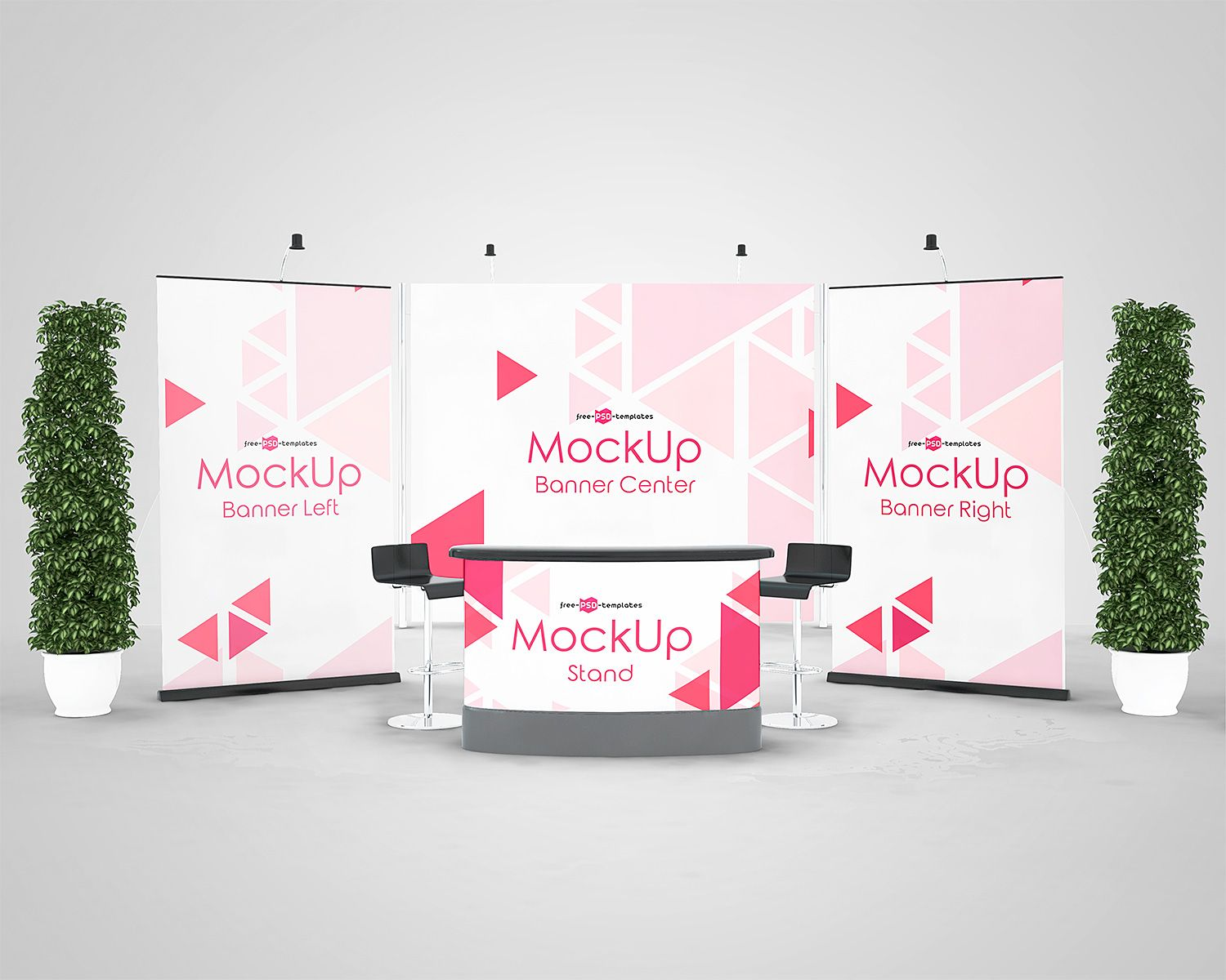 Exhibition Stand Mockup Psd Free : 3 exhibition stand mock ups free in psd freemockup mockup free